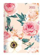 Cover-Bild zu Mini-Buchkalender Style Roses 2022 - Taschen-Kalender A6 - Rose - Day By Day - 352 Seiten - Notiz-Buch - Alpha Edition