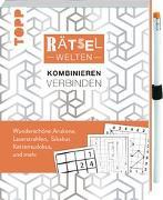 Cover-Bild zu Rätselwelten - Rätseln, Kombinieren & Verbinden: Wunderschöne Arukone, Laserstrahlen, Kettensudokus, Sikakus und mehr