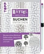 Cover-Bild zu Rätselwelten - Rätseln, Suchen & Entdecken: Wunderschöne Bildrätsel, Fehlersuchen, Labyrinthe, Schattenbilder und mehr