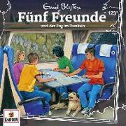 Cover-Bild zu Blyton, Enid: Fünf Freunde 123 und der Zug im Dunkeln