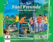 Cover-Bild zu Fünf Freunde 037 3er Box - retten die Umwelt (Folgen 116,126,135)