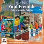 Cover-Bild zu Blyton, Enid: Fünf Freunde - 3er-Box 31.Geheimnisvolle Schätze (Folgen 101 / 106 / 114)