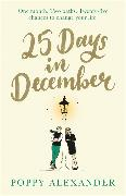 Cover-Bild zu 25 Days in December von Alexander, Poppy