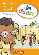 Cover-Bild zu der-die-das, Deutsch-Lehrwerk für Grundschulkinder mit erhöhtem Sprachförderbedarf, Erstlesen, 1. Schuljahr, Differenzierungsblock von Behle-Saure, Birgit