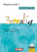 Cover-Bild zu 3-malig, Differenzierungsmaterial auf drei Niveaustufen, Mathematik, 1. Schuljahr, Kopiervorlagen mit CD-ROM von Brännström, Corinna