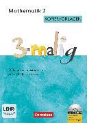 Cover-Bild zu 3-malig, Differenzierungsmaterial auf drei Niveaustufen, Mathematik, 2. Schuljahr, Kopiervorlagen mit CD-ROM von Brännström, Corinna