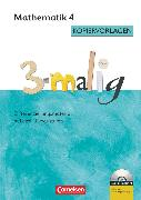 Cover-Bild zu 3-malig, Differenzierungsmaterial auf drei Niveaustufen, Mathematik, 4. Schuljahr, Kopiervorlagen mit CD-ROM von Brännström, Corinna