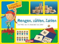 Cover-Bild zu Förderboxen für KiTa und Anfangsunterricht, Mengen, zählen, Zahlen (MZZ), Die Welt der Mathematik verstehen, Koffer mit Fördermaterialien und Handreichungen (80 S.) von Krajewski, Kristin