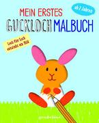 Cover-Bild zu Mein erstes Guckloch-Malbuch ab 2 Jahren (Häschen) - Seite für Seite entsteht ein Bild von Pautner, Norbert