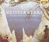 Cover-Bild zu 500 Meisterwerke deutscher Dichtung und Erzählkunst von Diverse
