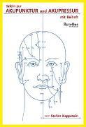 Cover-Bild zu Tafel zur Akupunktur und Akupressur von Kappstein, Stefan