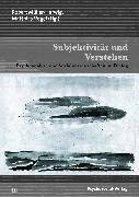 Cover-Bild zu Subjektivität und Verstehen (eBook) von Frommer, Jörg (Beitr.)