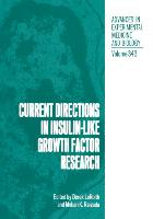 Cover-Bild zu Current Directions in Insulin-Like Growth Factor Research von LeRoith, Derek (Hrsg.)