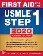 Cover-Bild zu First Aid for the USMLE Step 1 2020 von Le, Tao