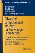 Cover-Bild zu Advanced Computational Methods for Knowledge Engineering (eBook) von Le Thi, Hoai An (Hrsg.)