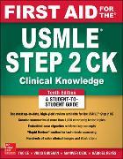 Cover-Bild zu First Aid for the USMLE Step 2 CK von Le, Tao