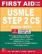 Cover-Bild zu First Aid for the USMLE Step 2 CS, Sixth Edition von Le, Tao