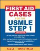 Cover-Bild zu First Aid Cases for the USMLE Step 1, Third Edition (eBook) von Le, Tao