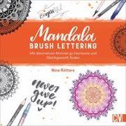 Cover-Bild zu Mandala Brush Lettering von Rötters, Nina