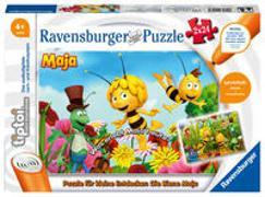 Cover-Bild zu Ravensburger tiptoi Spiel 00047 Puzzle für kleine Entdecker: Die Biene Maja - 2x24 Teile Kinderpuzzle ab 4 Jahren, für Jungen und Mädchen, 1 Spieler