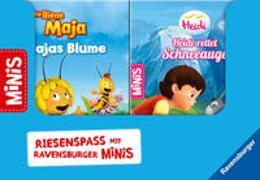 """Cover-Bild zu Korda, Steffi: Verkaufs-Kassette """"Ravensburger Minis 3 - Abenteuer mit Maja und Heidi"""""""