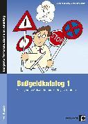 Cover-Bild zu Bußgeldkatalog von Jaglarz, Barbara