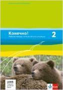 Cover-Bild zu Konetschno! Band 2. Russisch als 2. Fremdsprache. Arbeitsheft mit Audio-CD