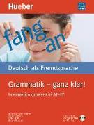 Cover-Bild zu Grammatik - ganz klar! Übungsgrammatik mit CD-ROM - Hörübungen und interaktive Übungen, I-Ausgabe von Gottstein-Schramm, Barbara
