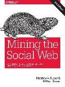 Cover-Bild zu Mining the Social Web, 3e von Russell, Matthew A