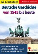 Cover-Bild zu Deutsche Geschichte von 1945 bis heute (eBook) von Heitmann, Friedhelm