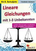Cover-Bild zu Lineare Gleichungen mit 1-3 Unbekannten (eBook) von Heitmann, Friedhelm