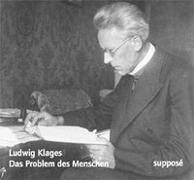 Cover-Bild zu Klages, Ludwig: Das Problem des Menschen. CD