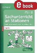 Cover-Bild zu Sachunterricht an Stationen Spezial Mensch damals (eBook) von Sommer, Sandra