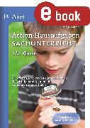 Cover-Bild zu Action-Hausaufgaben Sachunterricht 1+2 (eBook) von Sommer, Sandra