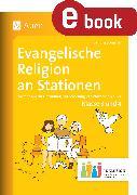 Cover-Bild zu Evangelische Religion an Stationen 3-4 Inklusion (eBook) von Sommer, Sandra