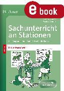 Cover-Bild zu Sachunterricht an Stationen Spezial Projektwochen (eBook) von Sommer, Sandra