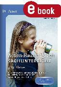 Cover-Bild zu Action-Hausaufgaben Sachunterricht 3+4 (eBook) von Sommer, Sandra