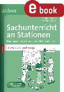Cover-Bild zu Sachunterricht an Stationen Deutschland & Europa (eBook) von Sommer, Sandra