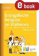 Cover-Bild zu Evangelische Religion an Stationen 1-2 Inklusion (eBook) von Sommer, Sandra