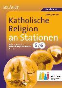 Cover-Bild zu Katholische Religion an Stationen 5-6 Inklusion von Sommer, Sandra