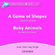 Cover-Bild zu Dolphin Readers: Starter Level: A Game of Shapes & Baby Animals Audio CD von Lindop, Christine