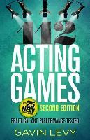 Cover-Bild zu 112 Acting Games von Levy, Gavin