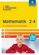 Cover-Bild zu Das Trainingsbuch. Mathematik 2-4