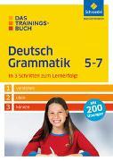 Cover-Bild zu Das Trainingsbuch. Deutsch Grammatik 5-7 von Bolle-Fischmann, Nastasja