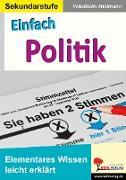 Cover-Bild zu Einfach Politik (eBook) von Heitmann, Friedhelm
