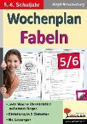 Cover-Bild zu Wochenplan Fabeln / Klasse 5-6 (eBook) von Brandenburg, Birgit
