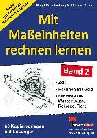 Cover-Bild zu Mit Maßeinheiten rechnen lernen - Band 2 (eBook) von Brandenburg, Birgit