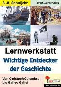 Cover-Bild zu Lernwerkstatt Wichtige Entdecker der Geschichte (eBook) von Brandenburg, Birgit