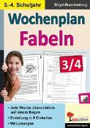 Cover-Bild zu Wochenplan Fabeln / Klasse 3-4 (eBook) von Brandenburg, Birgit