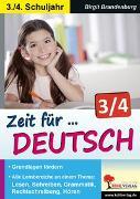 Cover-Bild zu Zeit für Deutsch / Klasse 3-4 (eBook) von Brandenburg, Birgit
